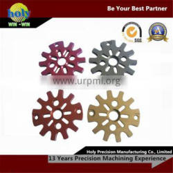 mechanical spare parts with aluminum material for motorcycle parts