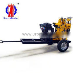 Hot Sale! XYX-130 Wheel Type 130meters Hydraulic Water Well Drilling Rig