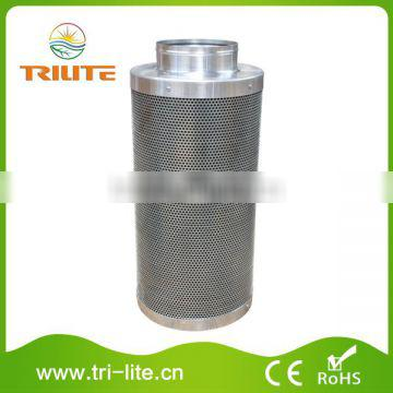 """6""""x20"""" (15x50cm) Odor Scrubber Stainless Steel Activated Carbon Filters"""