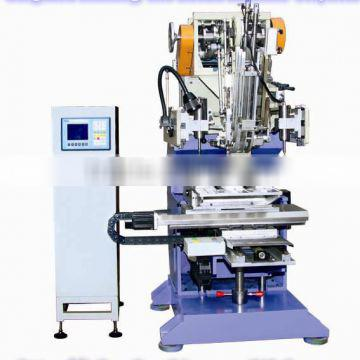 High Speed Flat Wire 3 Axis Roller Brush Make Machine (drilling and tufting)