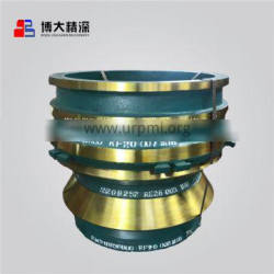 Crusher Wear Parts with Mantle Liner for Cone Crusher, Made of High Manganese Steel