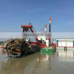 gold cutter suction dredger,waterway deepening dredger ship,river cleaning dredger for sale