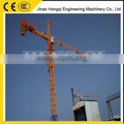 High quality topless climbing tower crane for construction use made in China