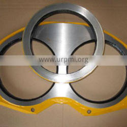 Putzmeiter DN125 concrete pump wear plate and cutting rings