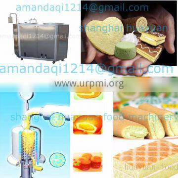 industrial swiss roll cake machine cake extruder