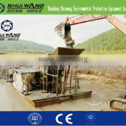 Modern energy-saving personal protective gold mining plant on sale