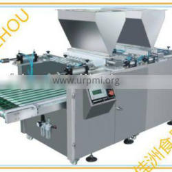 2014 high speed double row automatic baking filling machine