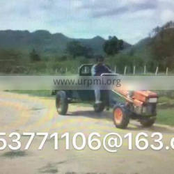 Small walking tractors have 8 to 12 horsepower.