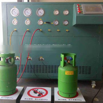 factory price multiple stage refrigerant recovery machine for refrigerant ISO tank