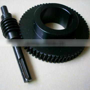 PTZ turntable precision parts worm wheel and worm 1 mode, 1.25 mode, 1.5 mode custom worm