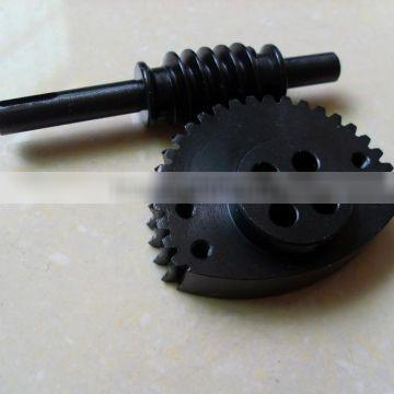Worm and Worm Gear used in Conveyor
