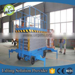 4m 500kgs Hydraulic Mobile scissor lift table with CE