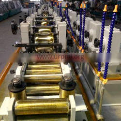 automatic galvanized steel welded pipe tube production line