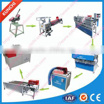 Full Line!! KUNCHI bamboo toothpick production machine with top technology