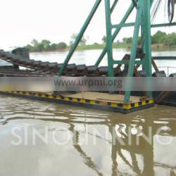 SINOLINKING 30 Meter Gold Dredger Gold Mining Equipment