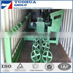 Double Wires Fully Automatic Chain link fence machine mesh size 25x25mm