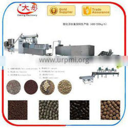 Full automatic floating fish feed pellet processing machine with factory