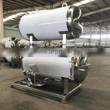 Double Automatic Rotary Type Sterilizer Autoclave For Food