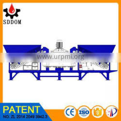 MD2200 ready mix concrete plant layout with free drawing