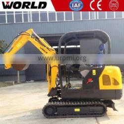 1.8ton CE approved rubber track for mini excavator price with Nachi Pump