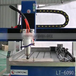 3d cnc router 6090 / 0609 4 axis cnc router engraver machine with rotary