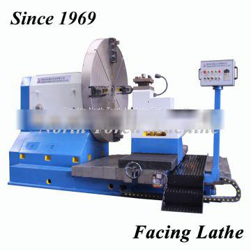 Manul Control Horizontal Facing Lathe Machine with 2 years quality warranty