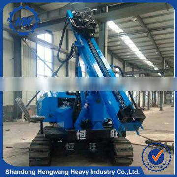 Step piling machine low price wide used pile driver for sale