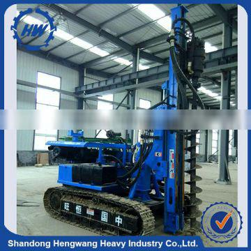 Widely used portable piling machine portable pile driver for sale