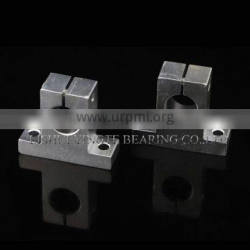 SK20 linear Shaft support sliding unit from LISHUI bearing factory