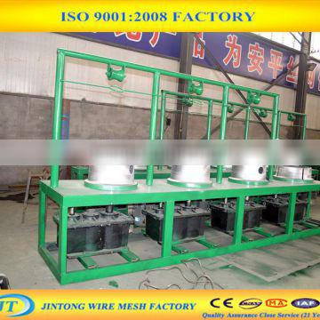 customized low carbon steel wire drawing machine price