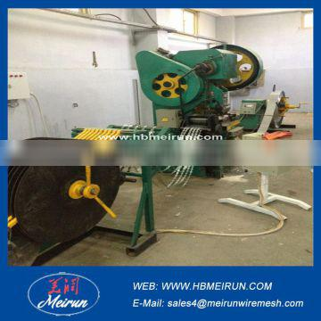 Alibaba 5 strip or 9 Strip razor barbed wire making machine manufacture with factory price with high quality