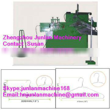 pvc coated wire clothes hanger machine