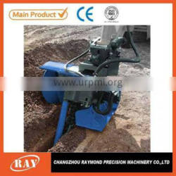 mini agricultural machinery trencher used into irrigation