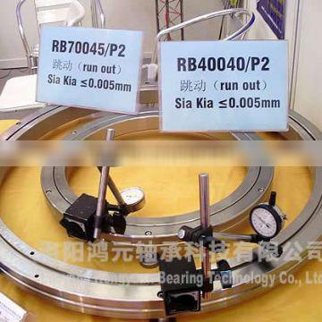 RB16025 crossed roller bearing|thin section bearing |160*220*25mm|