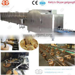 New Designed Popular Ice Cream Cone Wafer Biscuit Machinery Gelgoog Brand