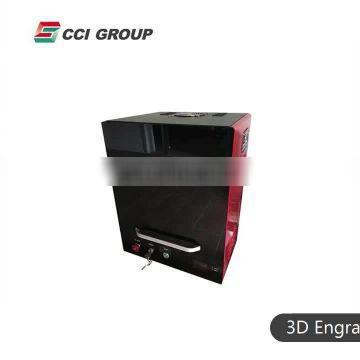 LE-3D-04D High speed 3d photo crystal sub surface laser engraving machine for India customer
