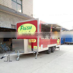 Best choices for moving restaurant!!! Buy mobile food truck made in China CE