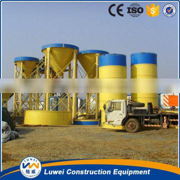 Easy installation of bolted cement silo in site