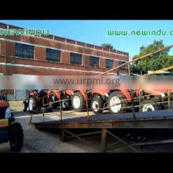 brand new LUTONG 4WD 50hp Farm Tractor LT504 tractors popular in brazil