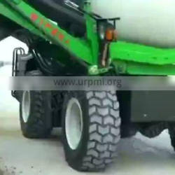 High Efficiency Self-loading Concrete Mixer Truck