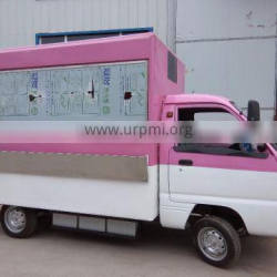 customized mobile food truck and snack vending cart for sale