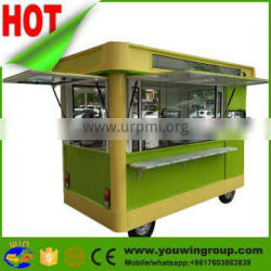 hot sell fast food trailer,mobile food truck for sale,mini truck food