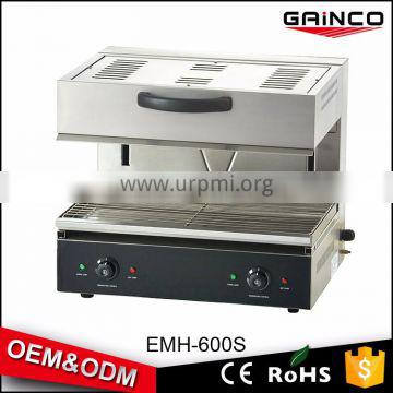 China counter top electric kitchen equipment salamander grill EMH-600S