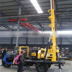 portable/trailer/tractor/tricycle mounted rock water well drilling rig