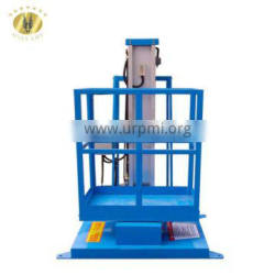 7LSJLI Shandong SevenLift 10m aerial manual mobile hydraulic electric light one man lifter