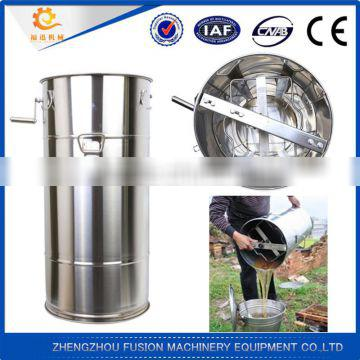 Stainless Steel 304 honey extractor 2 frame/manual honey extractor