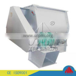 High efficient double shaft paddle feed mixer