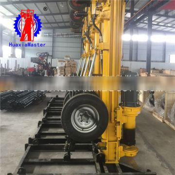 In stock KQZ-180D dth drilling rig pneumatic water well drilling rig for sale