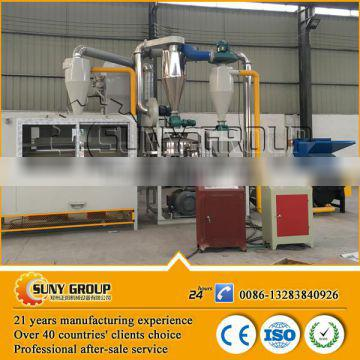High efficiency Aluminum and plastic composite paer/panel recycling machine