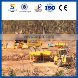SINOLINKING Gold Washing Plant For Gold Production Line